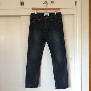 ⬇︎ JUNYA WATANABE/ lightly distressed jeans
